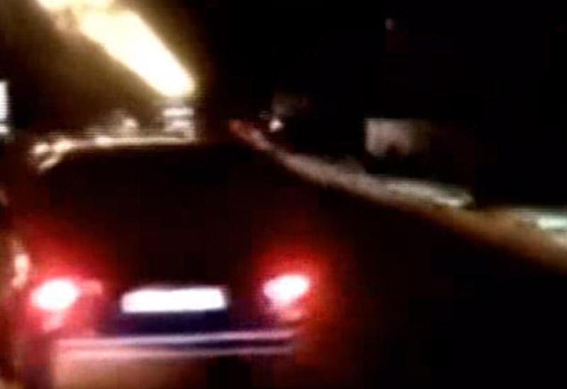 """Yol polisi Bakıda ''Niva'' ilə """"avtoş""""luq edən sürücünü tapdı <span class=""""color_red"""">- VİDEO</span>"""