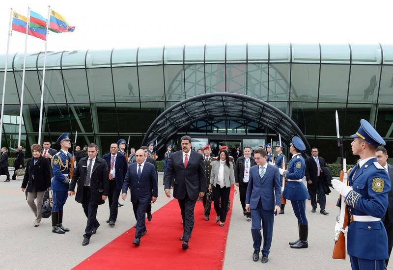 Завершился официальный визит Президента Венесуэлы в Азербайджан