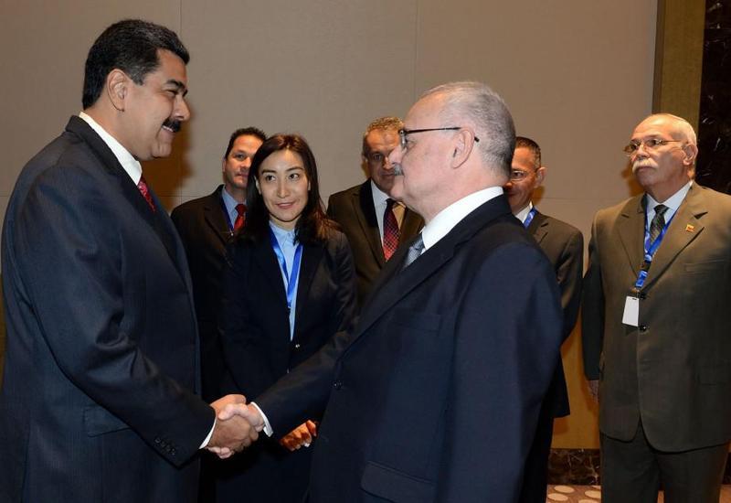 """Мадуро: Азербайджан и Венесуэла имеют хорошие возможности для взаимных инвестиций <span class=""""color_red"""">- ФОТО</span>"""