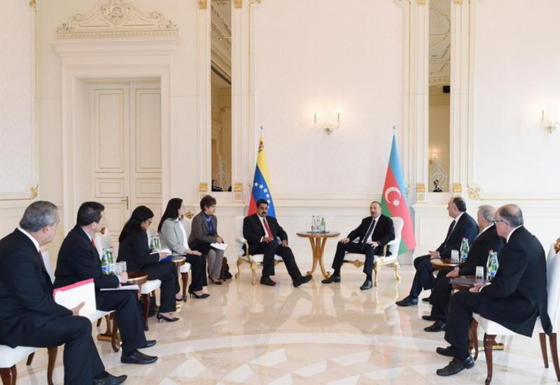 Президент Ильхам Алиев: Визит Президента Венесуэлы в Азербайджан создает хорошие возможности для расширения двустороннего сотрудничества