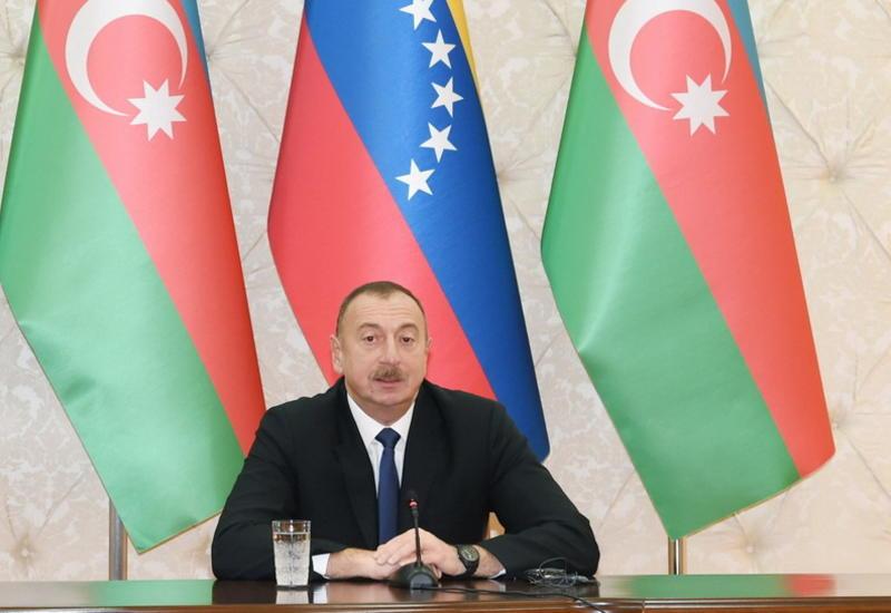 Президент Ильхам Алиев: Сегодня открывается новая страница в истории азербайджано-венесуэльских связей