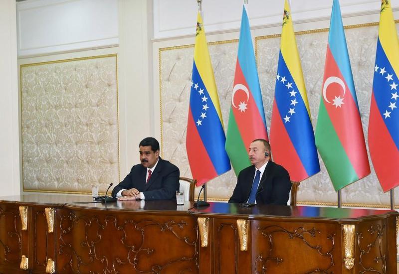 Президент Венесуэлы рассказал в Баку о новой форумуле стабилизации цены на нефть