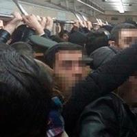 Bakı metrosunda 50-55 yaşlı kişi hər kəsi qorxutdu
