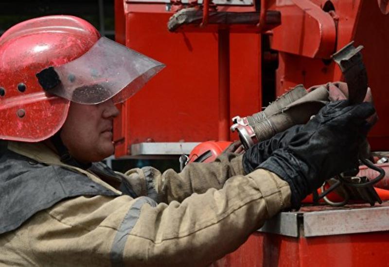"""Сильный пожар в Москве <span class=""""color_red"""">- ПОДРОБНОСТИ</span>"""