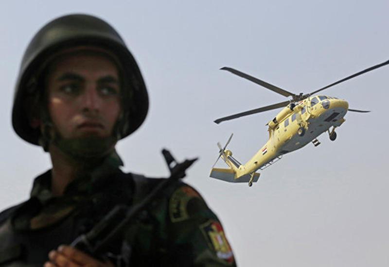 Египетские военные уничтожили 70 экстремистов