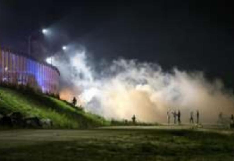 Во Франции произошли столкновения полиции и мигрантов