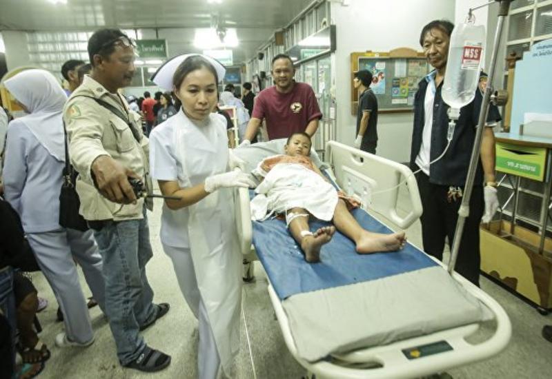 Сильный взрыв в Таиланде, много пострадавших