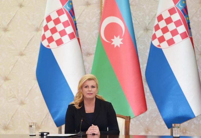 Колинда Грабар-Китарович: Хорватия поддерживает территориальную целостность Азербайджана
