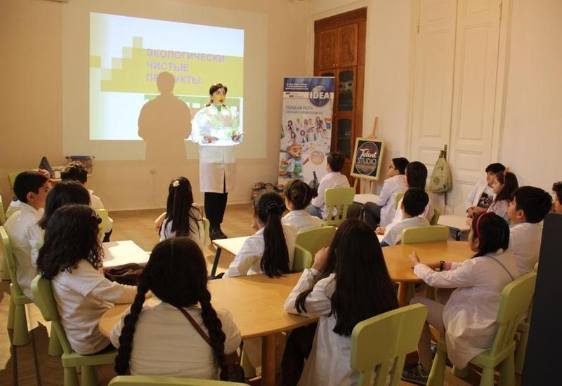 """IDEA провела очередной тренинг в рамках проекта «Экологической лаборатории для детей» <span class=""""color_red"""">- ФОТО</span>"""