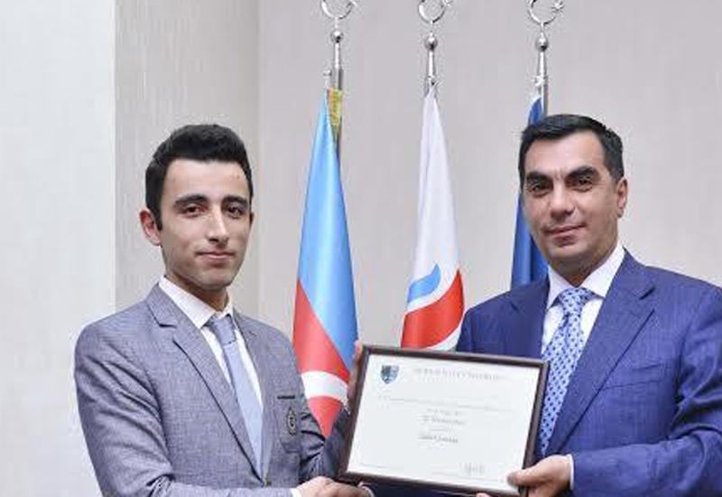 Студент БВШН получил награду университета Великобритании
