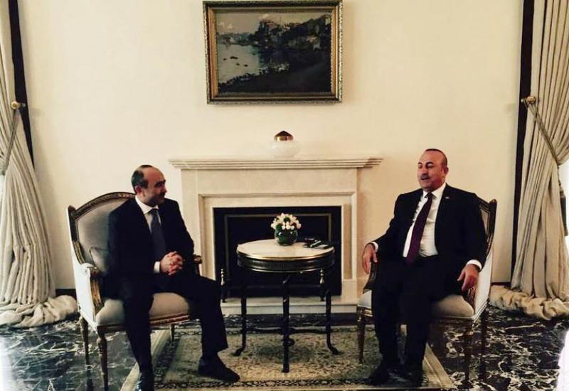 Али Гасанов на переговорах в Турции по поручению Президента Ильхама Алиева