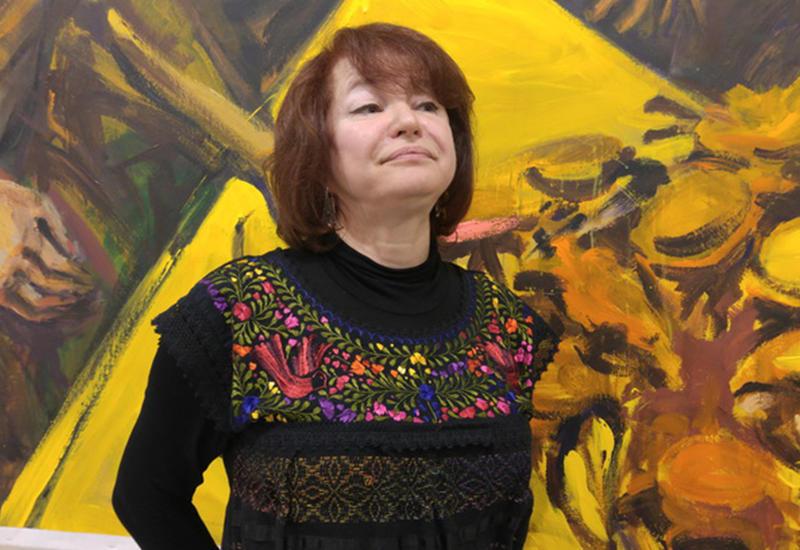 Инна Костина: Наших художников всегда можно узнать по азербайджанскому почерку - ФОТО
