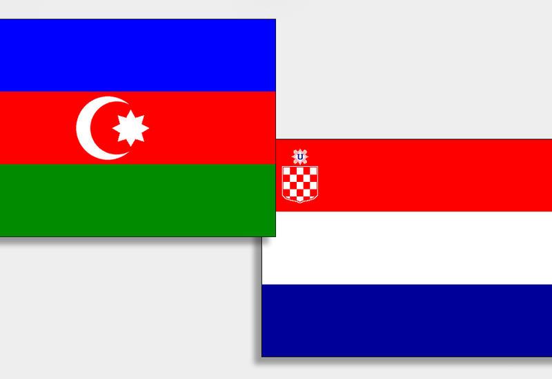 От имени Президента Ильхама Алиева и его супруги Мехрибан Алиевой дан официальный прием в честь Президента Хорватии