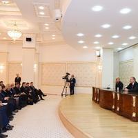 """Президенты Азербайджана и Хорватии выступили с заявлениями для печати <span class=""""color_red"""">- ОБНОВЛЕНО - ФОТО</span>"""