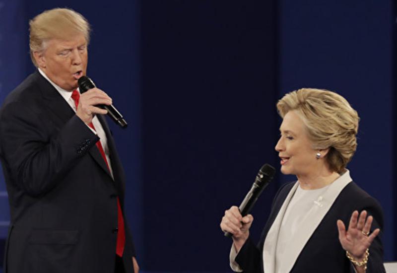 Опросы: Клинтон опережает Трампа