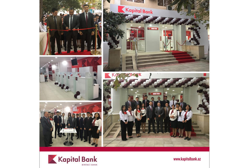 Kapital Bank открыл обновленный филиал в Барде