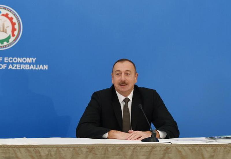 Президент Ильхам Алиев: Азербайджан придает большое значение экономическому сотрудничеству с Хорватией