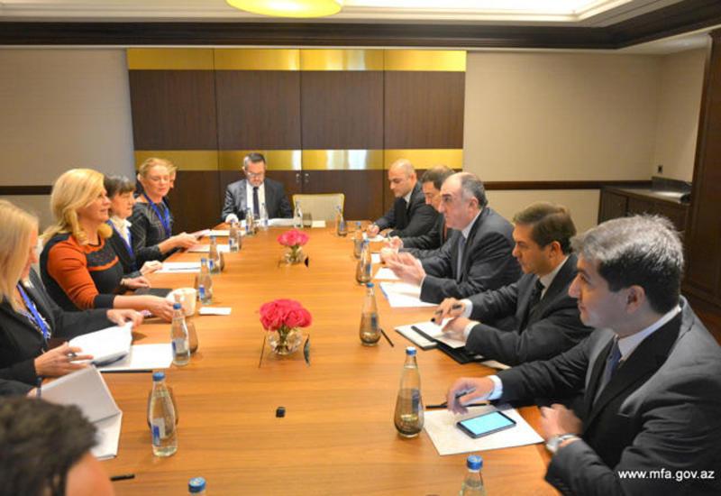 Президент Хорватии и глава МИД Азербайджана обсудили перспективы сотрудничества стран