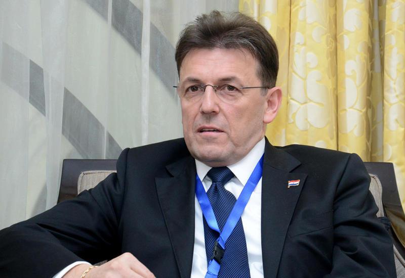 """Президент Хорватской экономической палаты о сотрудничестве с Азербайджаном <span class=""""color_red"""">- ИНТЕРВЬЮ - ФОТО</span>"""