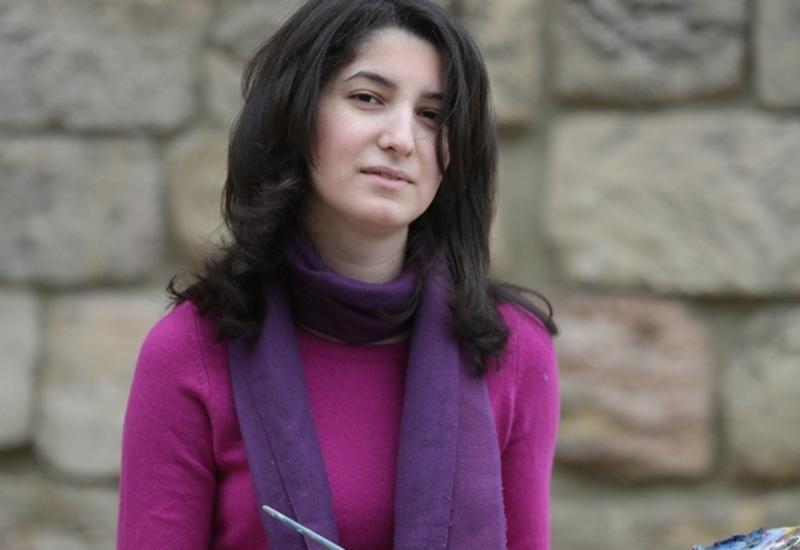 """Анна Нетребко получила подарок от азербайджанского художника <span class=""""color_red"""">- ФОТО</span>"""