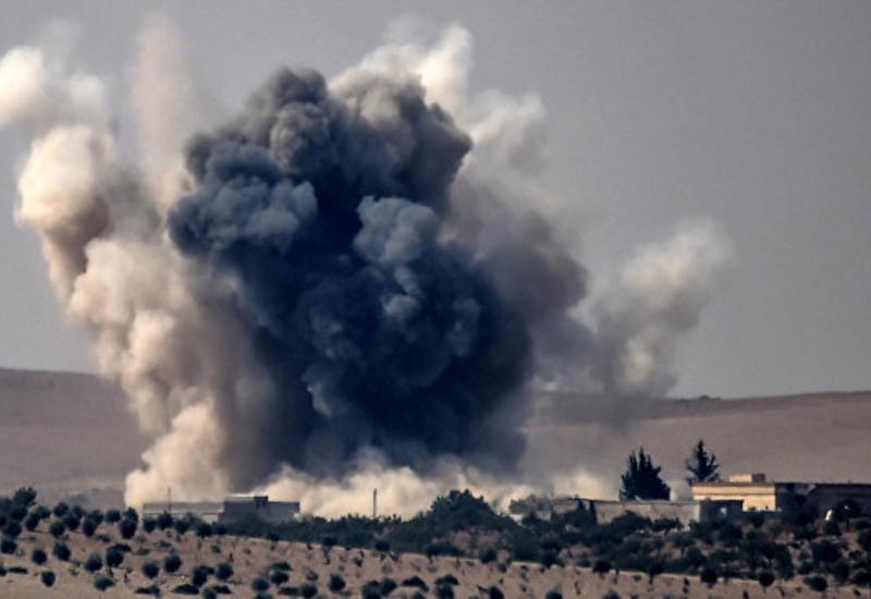"""Турецкая артиллерия обстреляла позиции """"ИГ"""" в Сирии"""