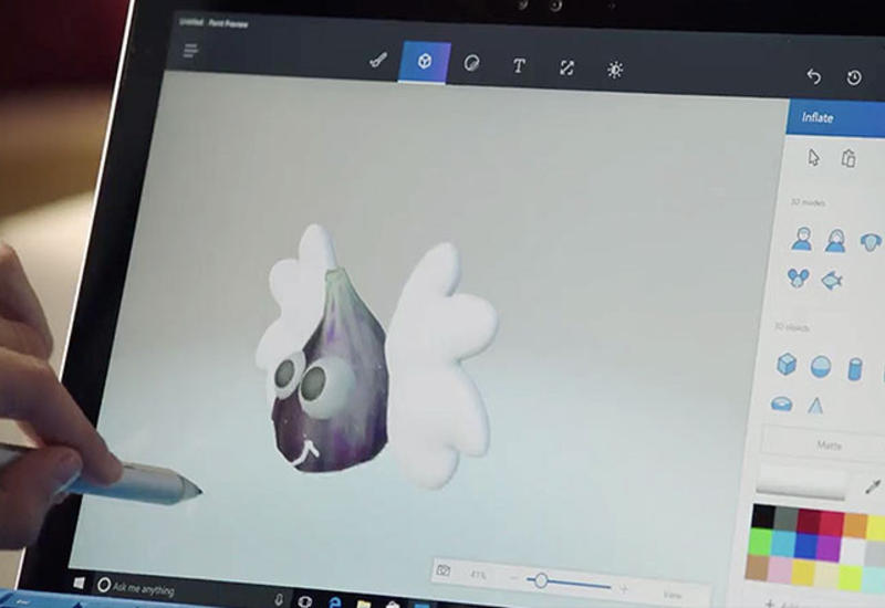 Microsoft официально представила Paint 3D