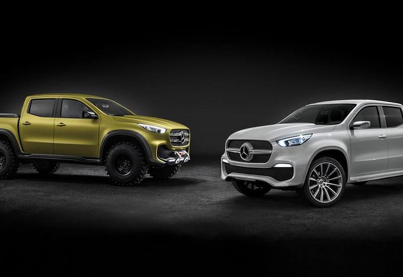 """Новейший пикап от Mercedes-Benz представлен официально <span class=""""color_red"""">- ФОТО</span>"""