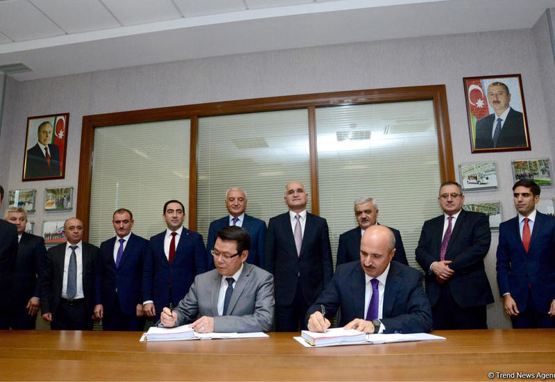 "В Азербайджане подписан контракт на 132 млн <span class=""color_red"">– ФОТО - ПОДРОБНОСТИ</span>"