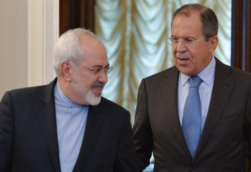Лавров и Зариф обсудят договоренности, достигнутые на трехсторонней встрече в Баку