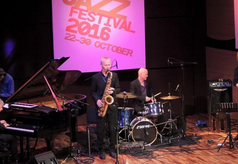 """Норвежские музыканты дали необычный концерт в Международном Центре Мугама <span class=""""color_red""""> - ФОТО</span>"""
