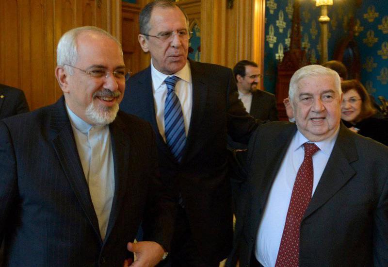 Главы МИД России, Ирана и Сирии на переговорах в Москве