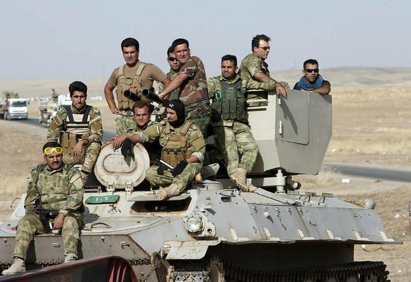 Военные Ирака приостановили наступление на Мосул