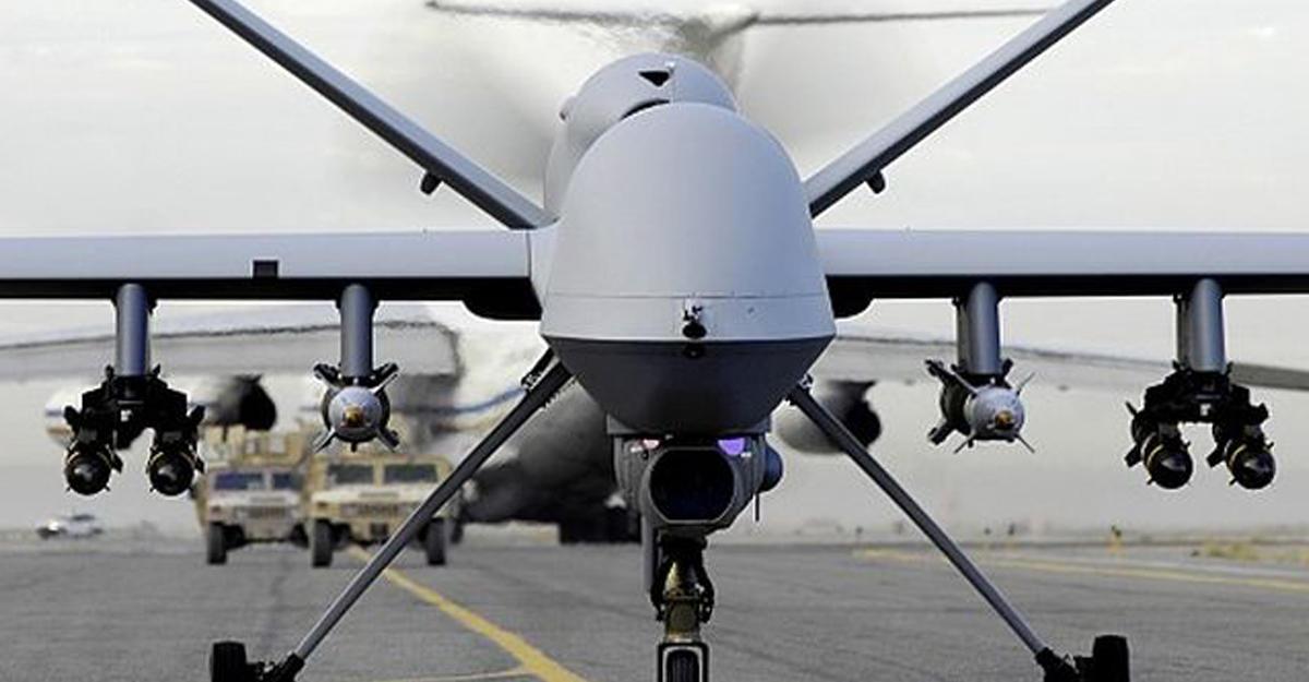 ВКитайской народной республике показали собственный наибольший боевой дрон