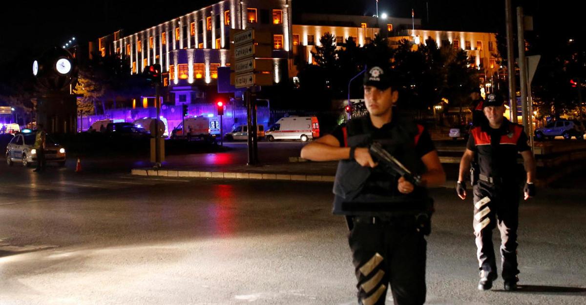 Власти Турции назвали имя 2-го основного подозреваемого ворганизации перелома