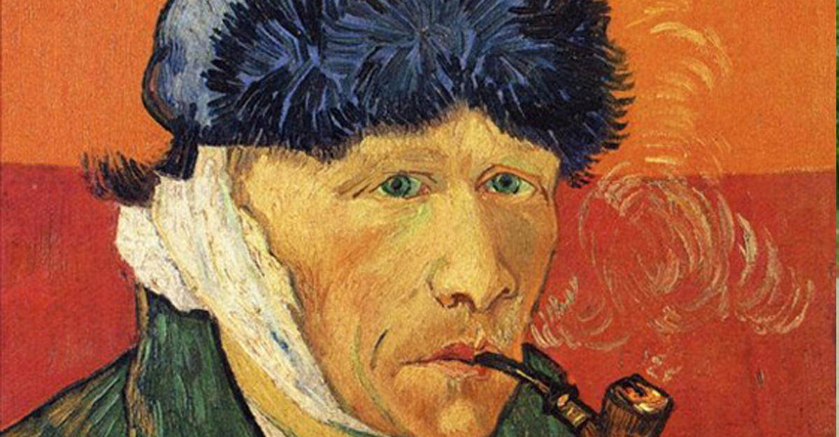 Ученые выяснили, почему Ван Гог отрезал себе ухо