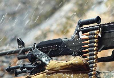 ВС Армении обстреливают азербайджанские позиции из крупнокалиберных пулеметов