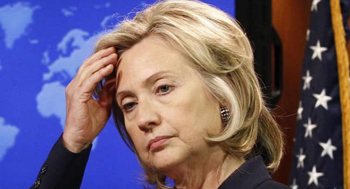 Уштаба Клинтон рыдают еесторонники