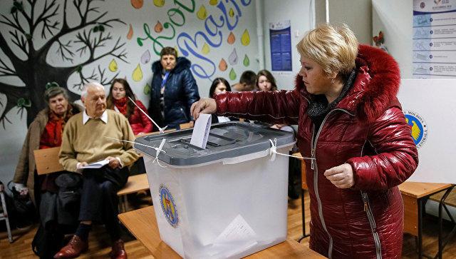 Кандидат впрезиденты Молдавии Санду потребовала отставки глав МИД иЦИК