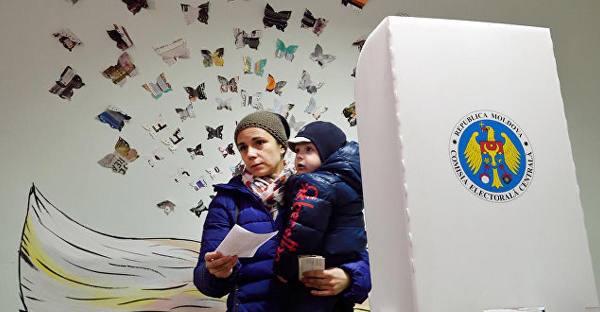 ВМолдавии «день тишины» перед вторым туром выборов президента