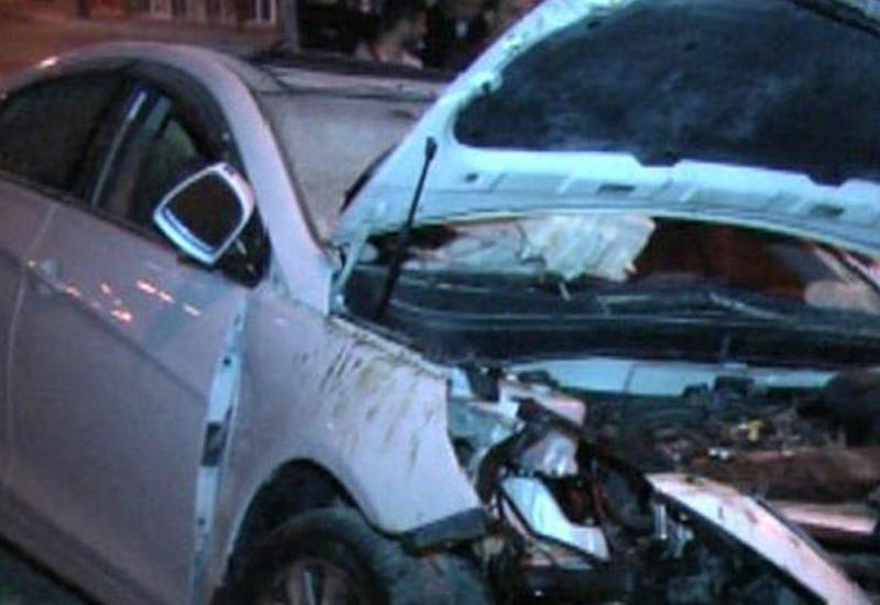 Тяжелое ДТП на магистрали Баку-Газах, есть пострадавшие