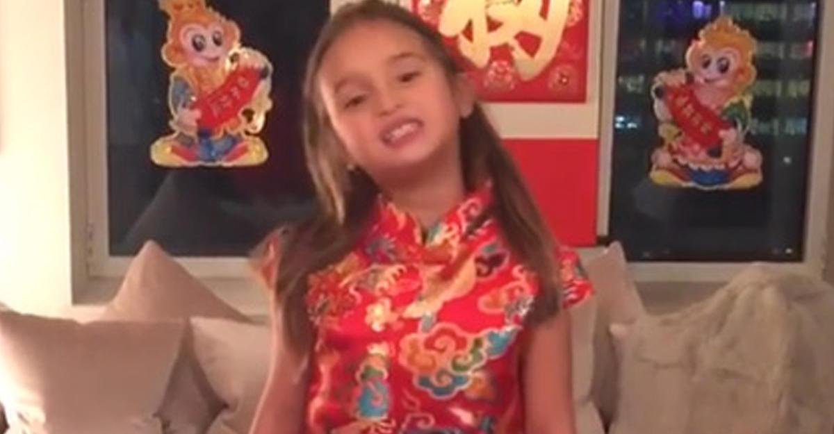 Внучка Дональда Трампа стала звездой китайского интернета