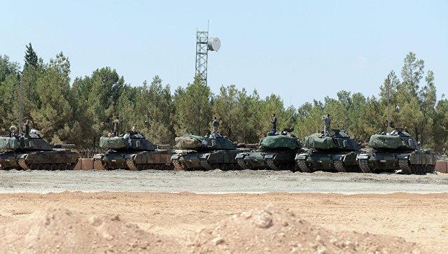Турецкий солдат умер под Эль-Бабом
