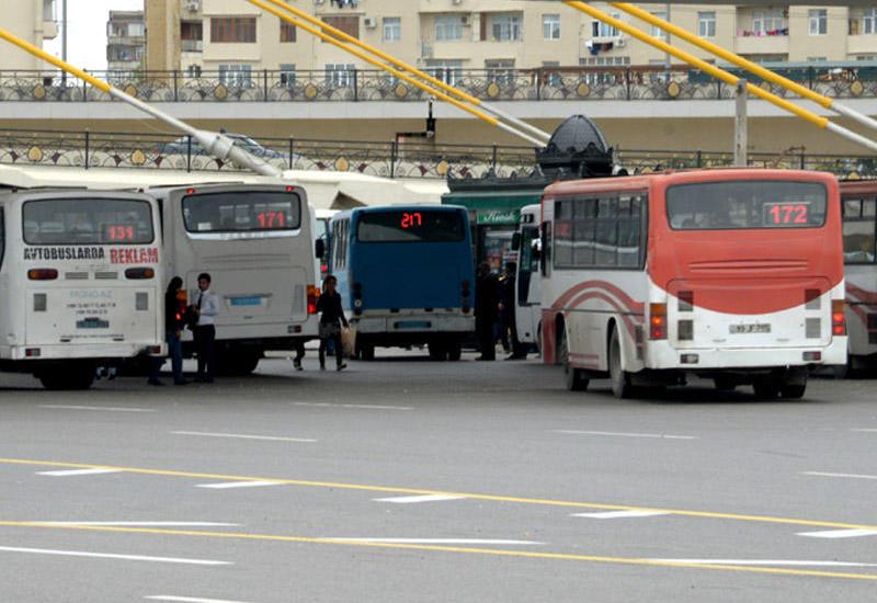 В Баку изменен еще один автобусный маршрут