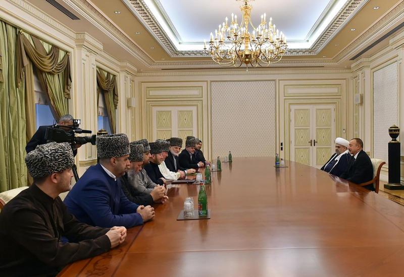 Президент Ильхам Алиев: Пример наших практических действий и официальных заявлений должен быть для всех хорошим уроком