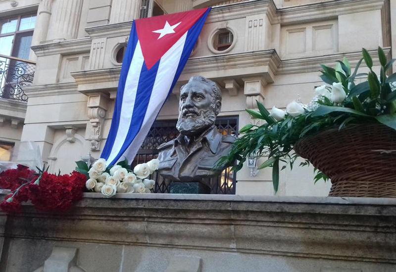 В Баку почтили память Фиделя Кастро