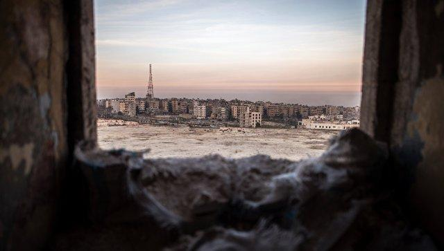 Профессионалы ВСРФ вылетели вСирию для разминирования Алеппо