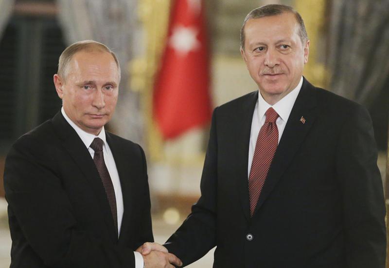 Эрдоган предложил Путину вести расчеты в национальных валютах