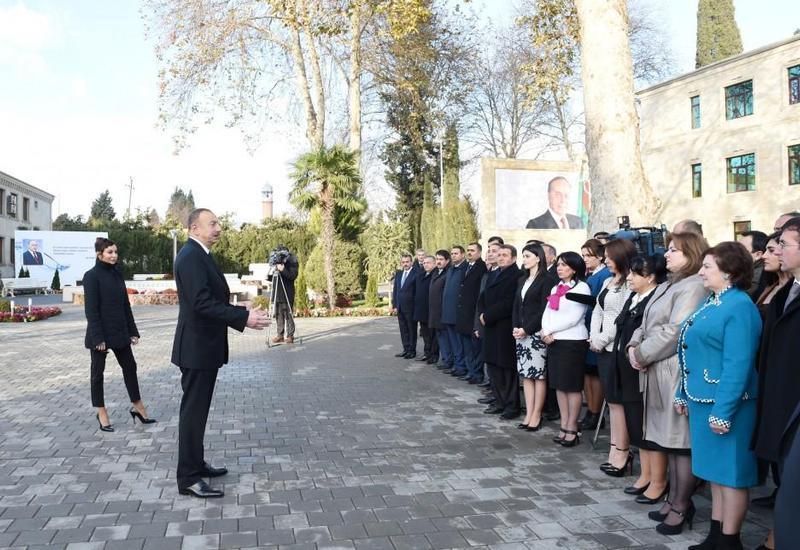 Президент Ильхам Алиев: В Азербайджане развивается сельское хозяйство, несмотря на то, что в мире и нашем регионе господствует кризис