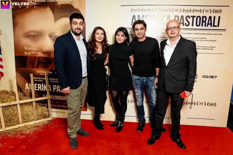 Начался показ голливудского фильма на азербайджанском языке с известными ак ...