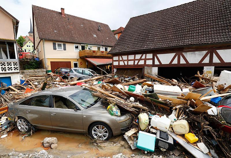 В Испании наводнение затопило город Малага